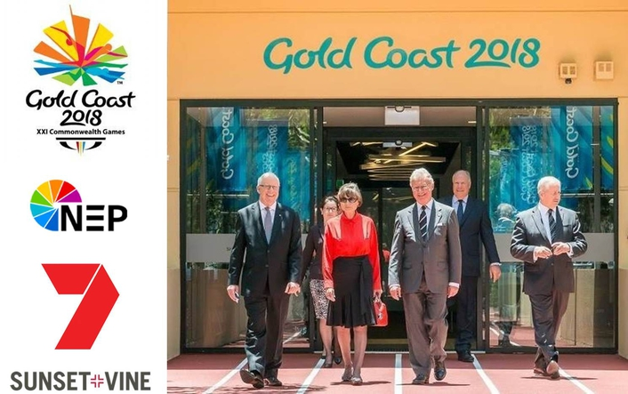 Commonwealth Games Minister officially opens Gold Coast 2018 Host Broadcaster HQ