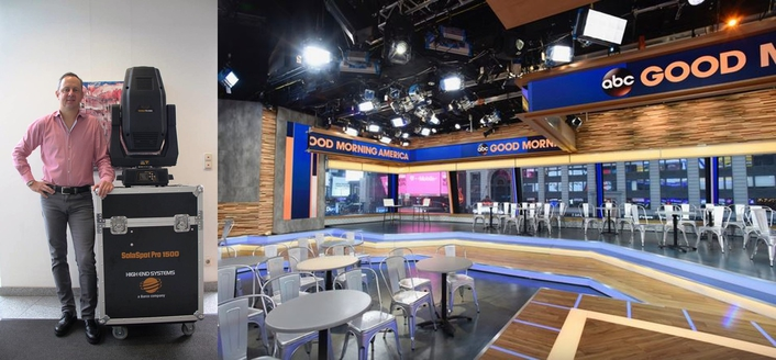 LDG Adds SolaSpot 1500s To Good Morning America