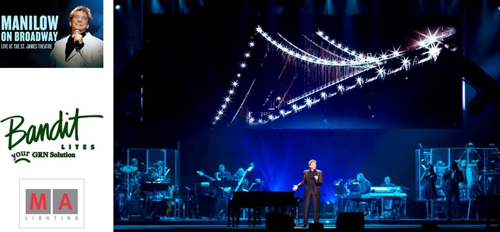 back on broadway barry manilow returns with grandma2 and ma onpc command wing live production tv. Black Bedroom Furniture Sets. Home Design Ideas