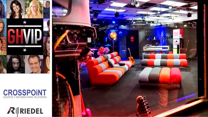 Riedel MediorNet Provides Decentralized and Redundant Signal Routing for Spain's 'Gran Hermano VIP' ('Big Brother VIP')
