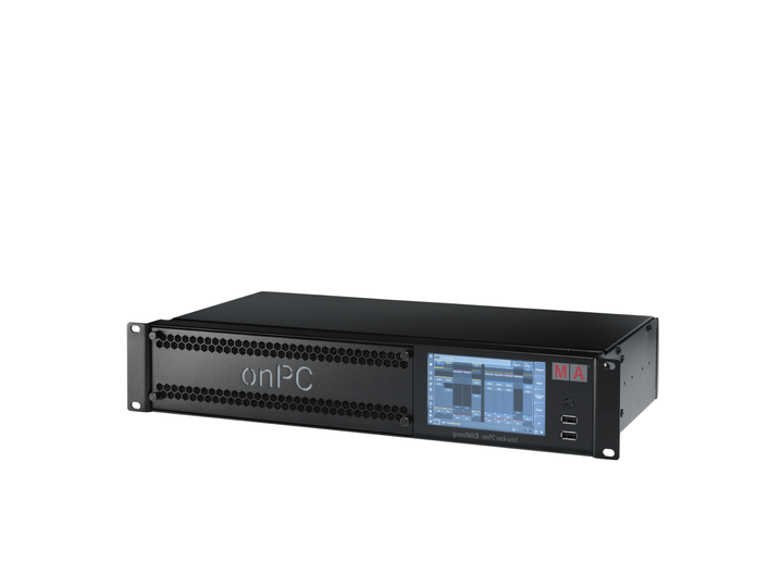 grandMA3 onPC rack-unit: The all-round lighting control solution for installations