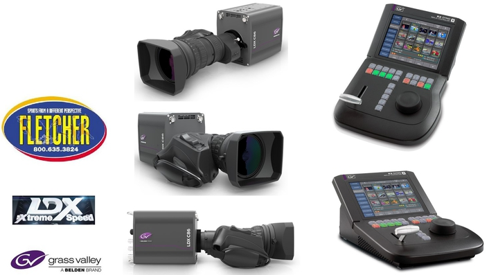 Fletcher Sports Adds New Cameras and Replay Systems from Grass Valley to Boost Rental Fleet