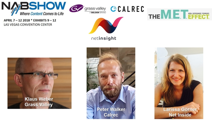 GRASS VALLEY, CALREC AUDIO AND NET INSIGHT TAKE THE STAGE AT NAB TO PRESENT THE LATEST SOLUTIONS FOR  AT-HOME PRODUCTION