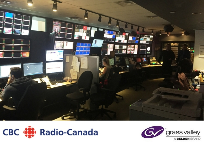 CBC/Radio-Canada Taps Grass Valley Open Standards IP Playout for New Montreal Broadcast Center
