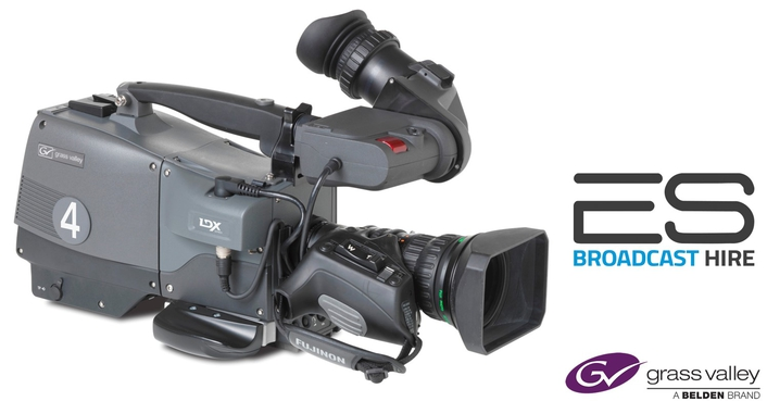 ES Broadcast Hire Selects Grass Valley's LDX Series Cameras to Increase its 4K Hire Fleet