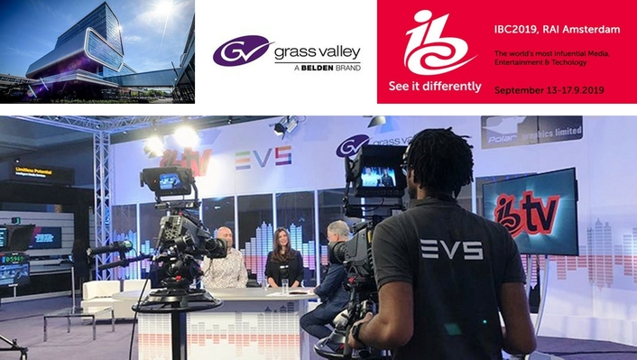 Grass Valley Enables Open-Standards IP Production for IBC TV