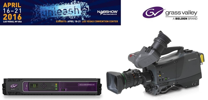 Grass Valley Changes the Landscape of Live Production with Direct IP Camera Solution