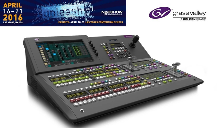 Grass Valley Debuts New GV Korona Production Switcher at NAB 2016