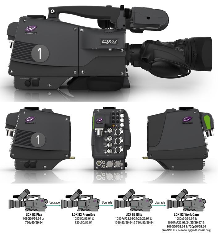Grass Valley Debuts LDX 82 Series Cameras