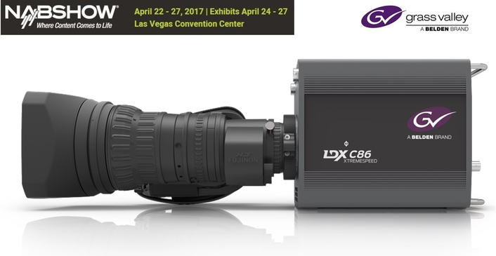 Grass Valley Introduces LDX C82 and LDX C86N Compact Series Cameras