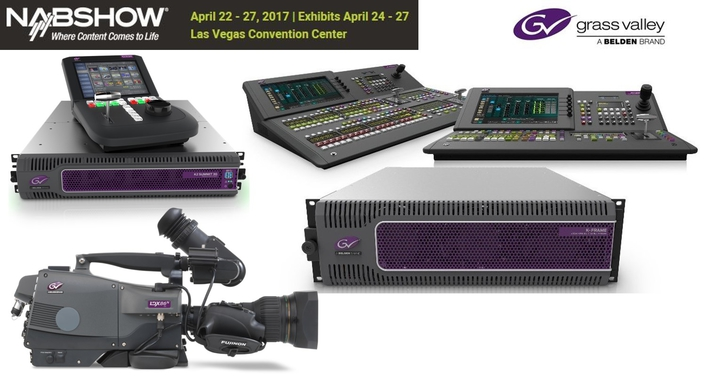 Grass Valley Shows Powerful, Flexible Live Production Solutions at NAB 2017