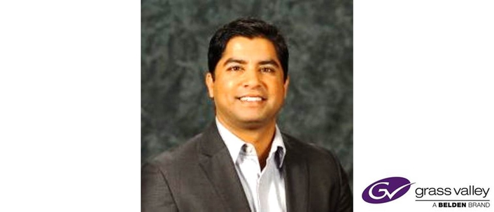 Neerav Shah, Digital Media Veteran, Joins Grass Valley as Senior Vice President, Strategic Marketing