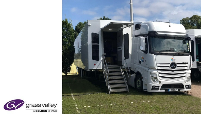 Grass Valley and NEP UK to Showcase the Power of IP