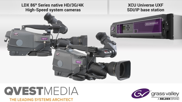 Qvest Media Selects Grass Valley Cameras for Live Production