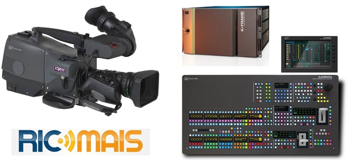 LDX 80 series cameras and a Karrera K-Frame S-series switcher