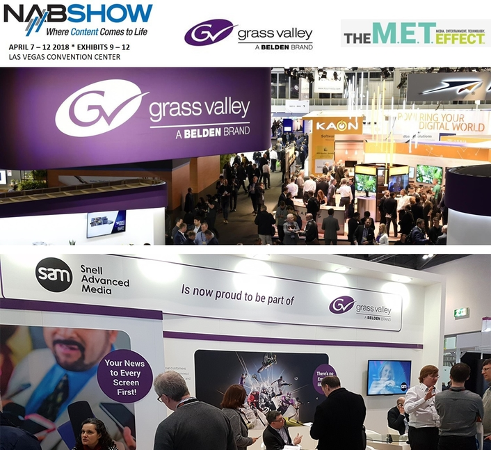 Combined Grass Valley and SAM Present the Broadcast Industry's Most Comprehensive Portfolio of Content and Media Technology