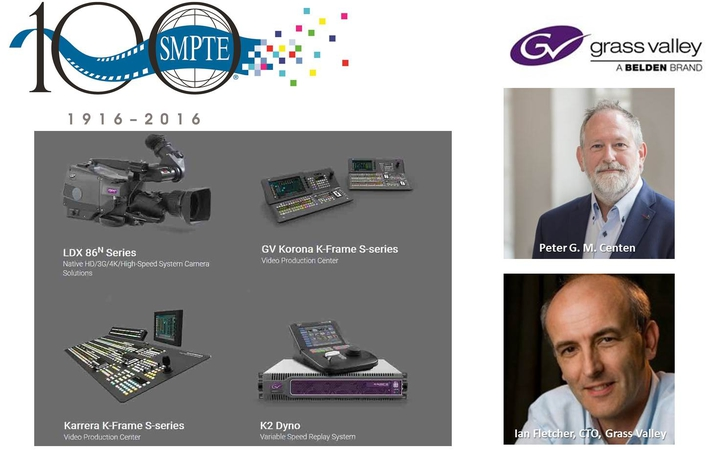 Grass Valley Solutions and Innovators Take Center Stage at SMPTE 2016 Annual Technical Conference & Exhibition
