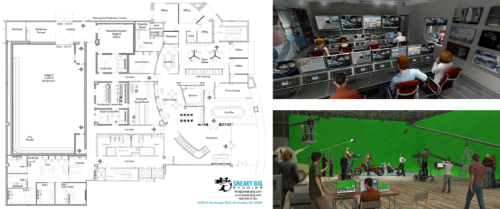 Sneaky Big Studios Set to Open in Arizona with Productions Powered by Grass Valley