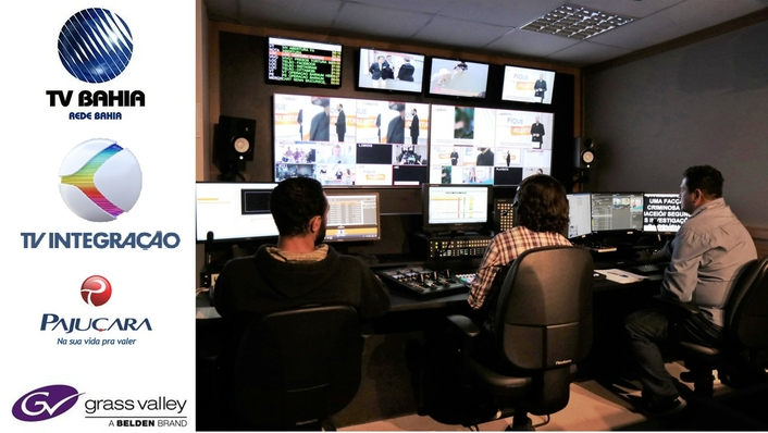 Grass Valley Delivers the Newsroom System of Choice for LATAM Broadcasters