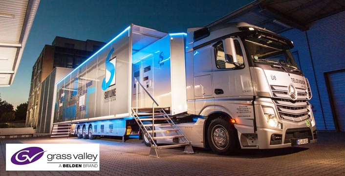 Germany's TV Skyline Chooses Grass Valley to Power its Newest High-End OB Van