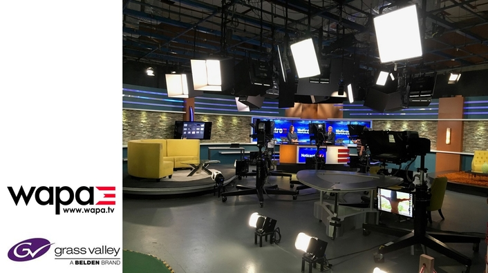 WAPA TV Upgrades Grass Valley Ignite Solution for Improved Production Workflow and Viewer Experience