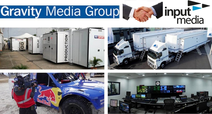Gravity Media Group acquires leading sports production company Input Media