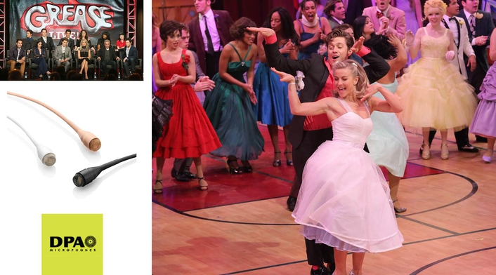Grease: Live is Hopelessly Devoted to DPA Microphones
