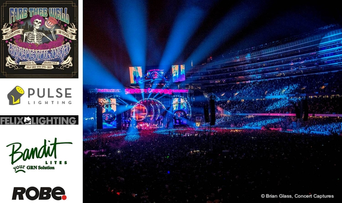 The Grateful Dead celebrated their 50th anniversary with the three final 'Fare Thee Well' shows