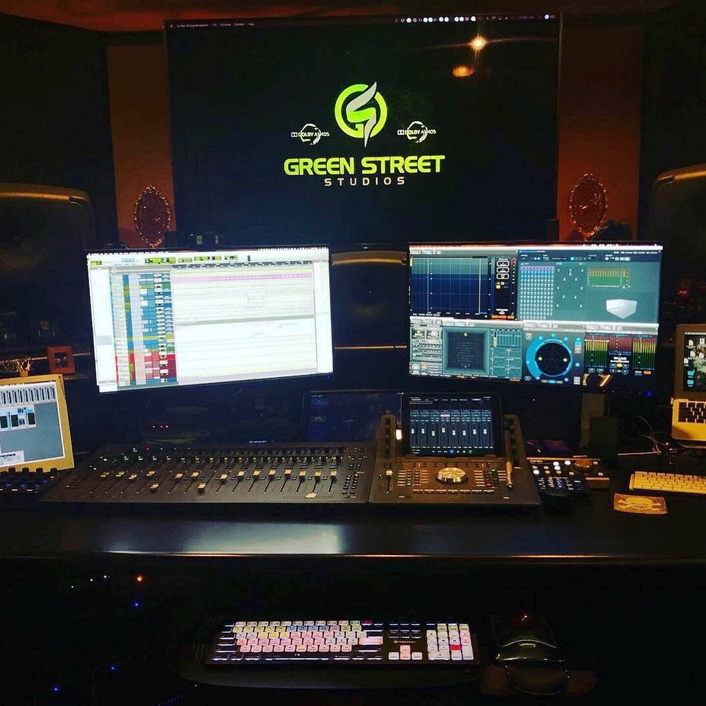Genelec 7.1.4 Active monitoring array gives Green Street Studios everything it  needs to cover game audio, film and TV ADR, and music production