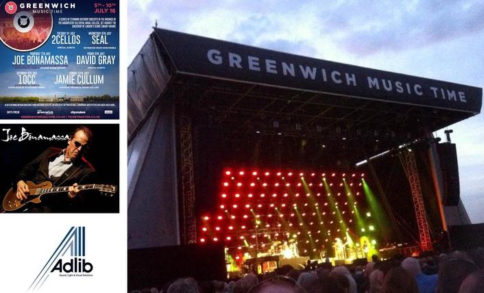 Adlib Embraces the Blues with Joe Bonamassa Tour | LIVE