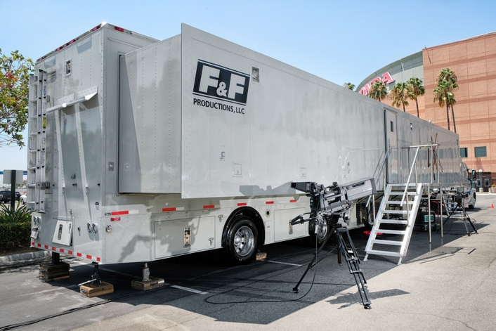 Calrec lands knockout blow for F&F Productions' new truck