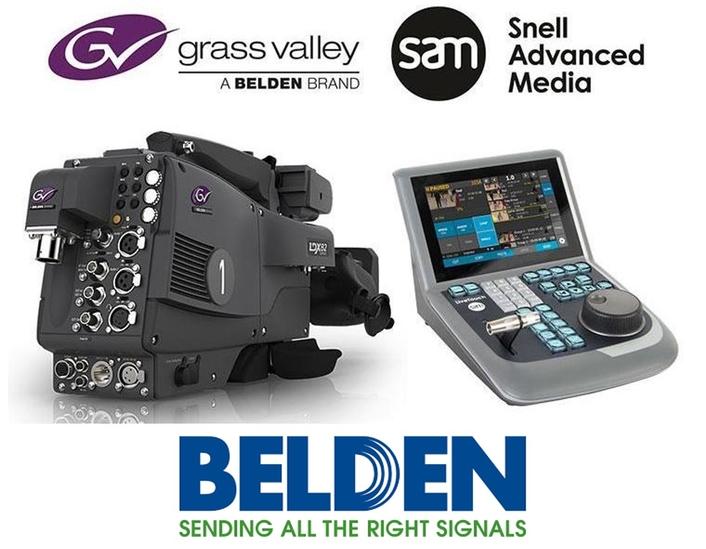 Belden to merge SAM with Grass Valley