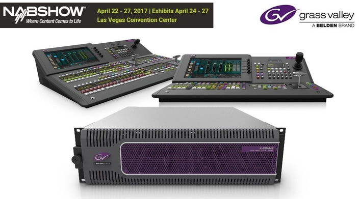 Grass Valley Introduces the New K-Frame V-series Production Switcher