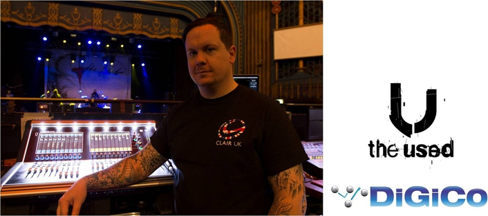 DiGiCo S21 gets (The) Used on rock band tour