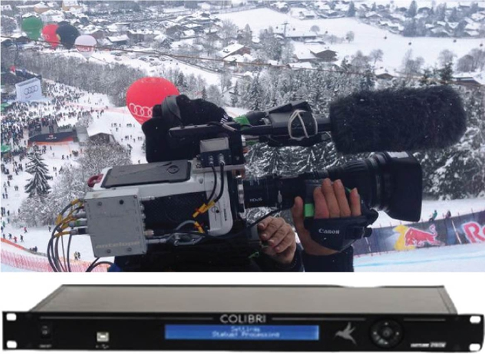 Antelope Ultra Slow Motion and Dartfish Analysis at the Kitzbuehel Alpine Skiing World Cup 2016