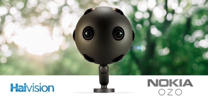 Haivision's 4K Encoder Now Compatible with Nokia OZO Live for Virtual Reality 360-Degree Streaming
