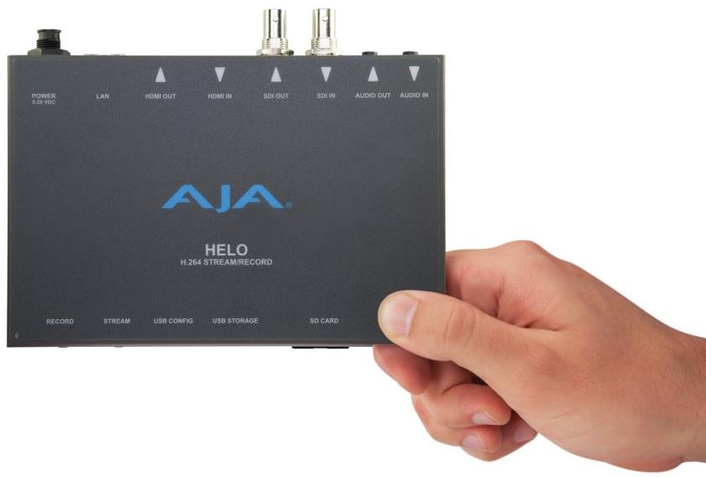 HELO Delivers Unprecedented Flexibility, Connectivity and Scalability for Professional Streaming and Recording Needs