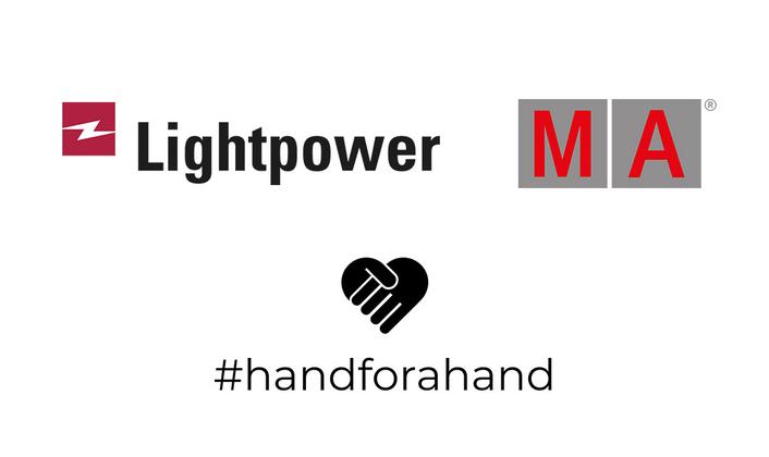 MA Lighting and Lightpower support #handforahand: Targeted help