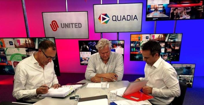 United Acquires Quadia Online Video