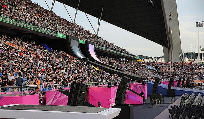South Korean HARMAN Pro distributor Techdata and audio rental company Total Korea recently provided the sound reinforcement systems