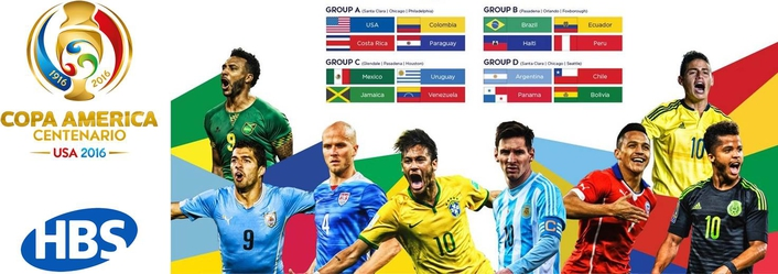 HBS becomes Official Provider of the 2016 Copa America Centenario