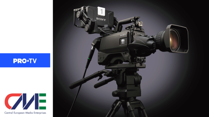 PRO TV selects Sony's latest HDC-3500 4K/HD HDR Live Production system camera