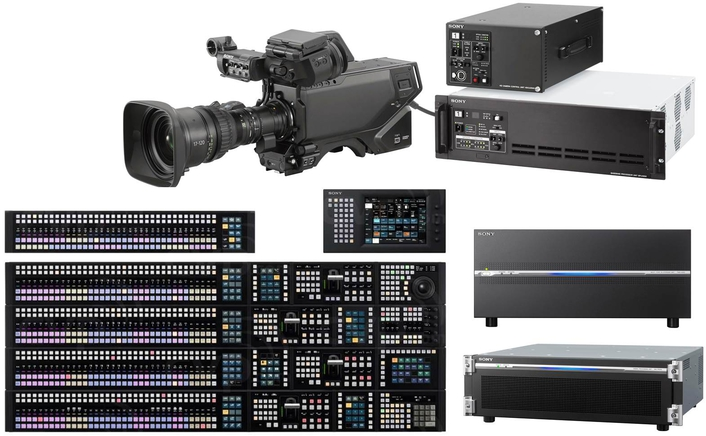 The communications group has chosen the most advanced 4K technology on the market with extended colour range and HDR live