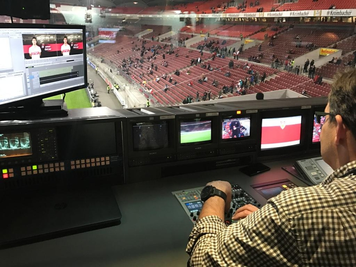 New wireless camera technology for Stuttgart soccer stadium-TV