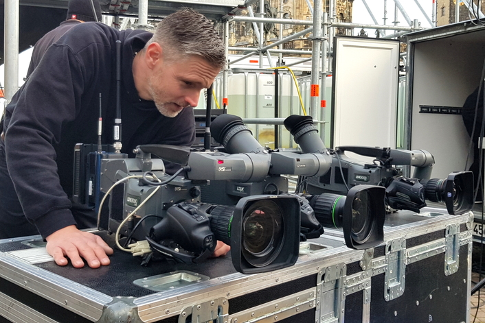 HDwireless Provides Wireless Camera Broadcasting for MDR in Dresden