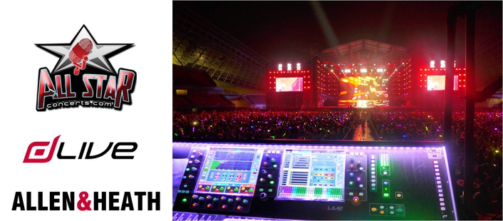 DLIVE SHINES IN AN ALL-STAR CONCERT IN CHINA