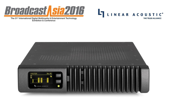 Linear Acoustic® DemonSTRATES the SDI xnode™ at broadcastasia 2016