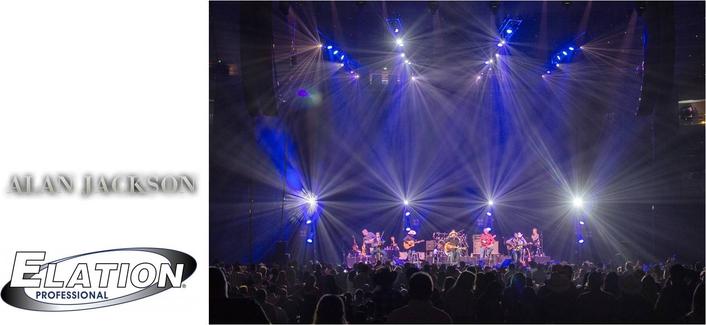 "Platinum FLX™ Flexibility for Alan Jackson ""Still Keepin' it Country"" Tour"