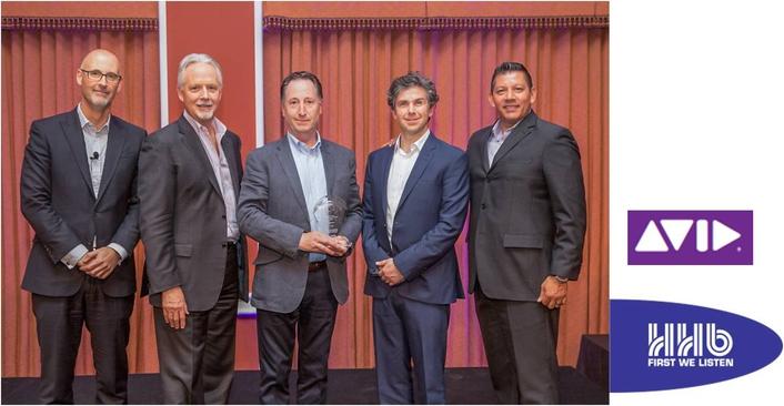 HHB wins Avid Audio Top reseller award