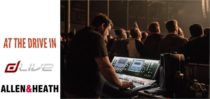 Allen & Heath dLive Powers At The Drive-In Reunion Tour